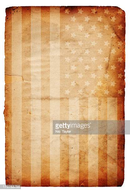 American Flag on Paper XXXL