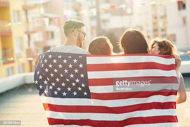 american flag - fourth of july stock photos and pictures