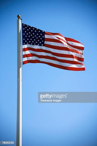 american flag - flagpole stock pictures, royalty-free photos & images
