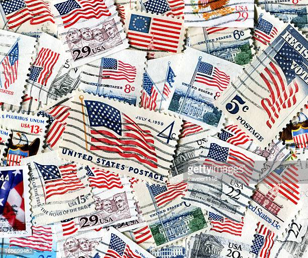American Flag Stamps XXXL