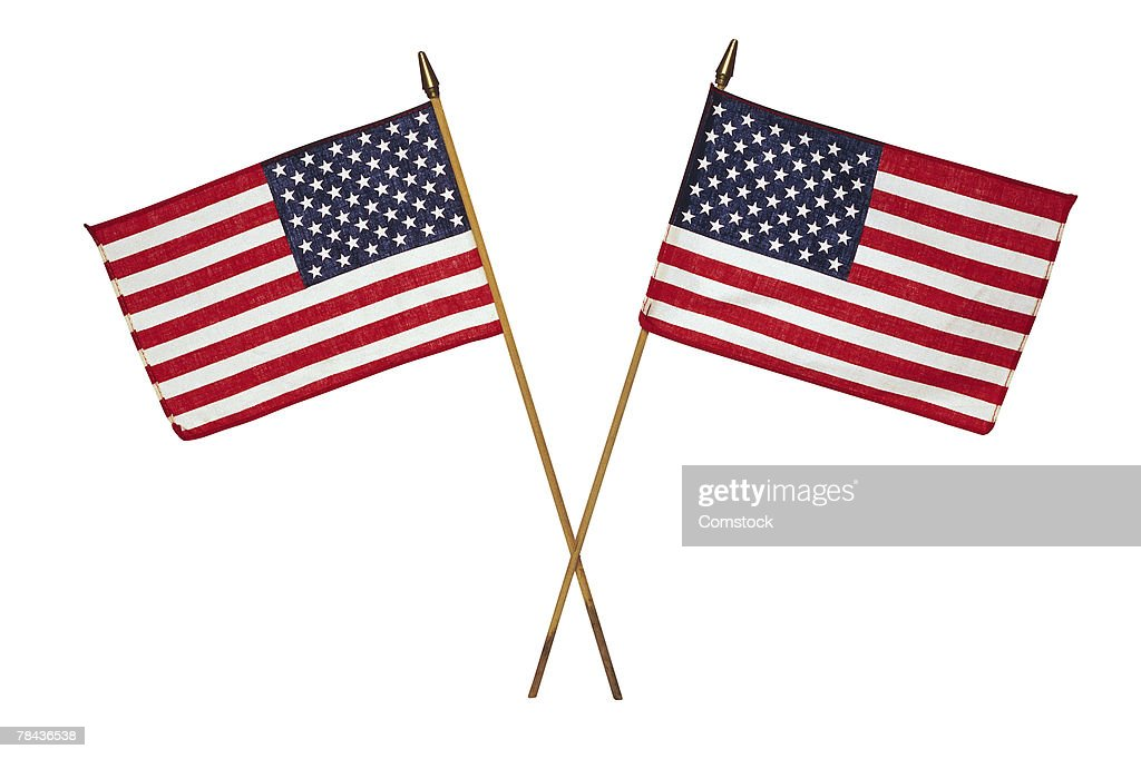 American flags : Stockfoto