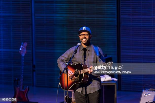American folk and blues singersongwriter Bhi Bhiman whistles and sings his cover version of the Dire Straits tune 'Walk of Life' to conclude a...