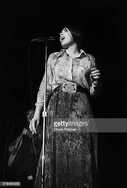 American Folk musician Bonnie Koloc performs onstage at Northern Illinois University DeKalb Illinois early 1970s