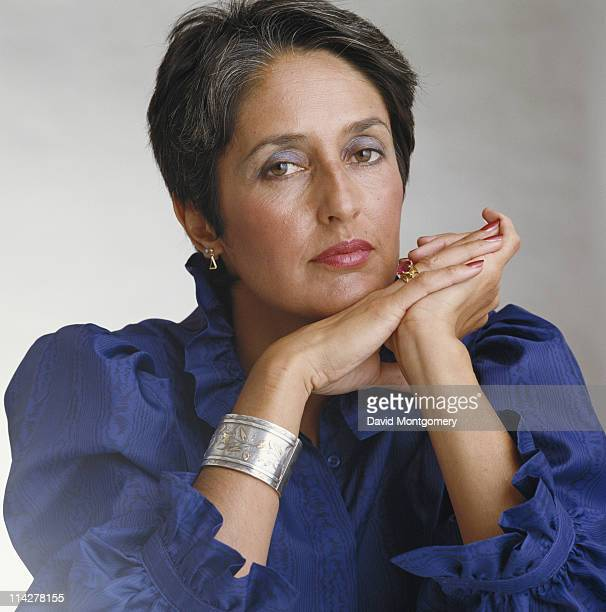 American folk singer and songwriter Joan Baez circa 1985