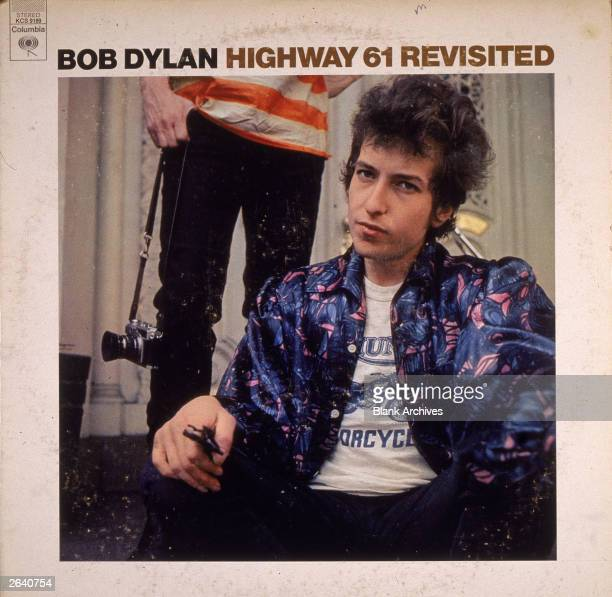 American folk singer Bob Dylan's album cover for 'Highway 61 Revisited,' 1965.