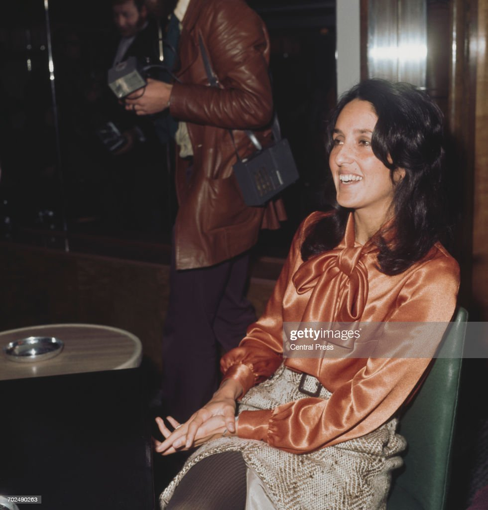 American folk singer Joan Baez, 1972.