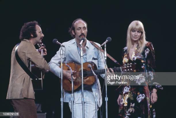 American folk trio Peter Paul and Mary circa 1978