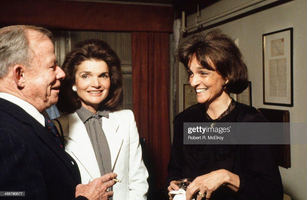 Onassis & Straight At Event : News Photo