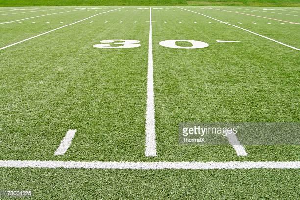 Football américain, la ligne de 30 yards