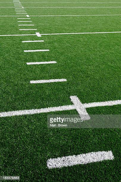 american football field grass turf - american football pitch stock pictures, royalty-free photos & images