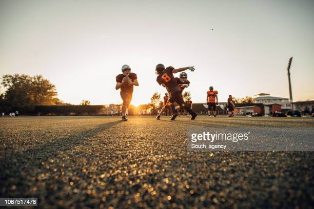 american football game - guard american football player stock photos and pictures