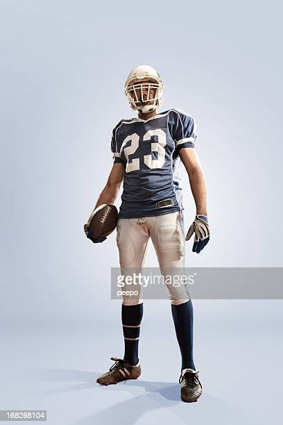 american football hero - football player stock pictures, royalty-free photos & images