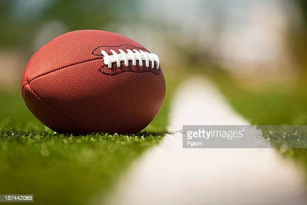 american football on the turf - sunday stock pictures, royalty-free photos & images