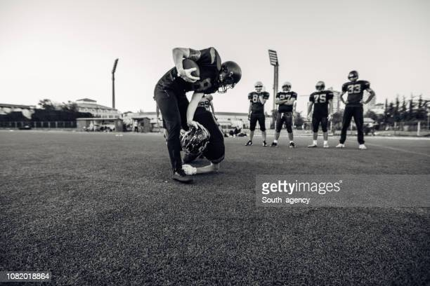 american football - team sport stock pictures, royalty-free photos & images