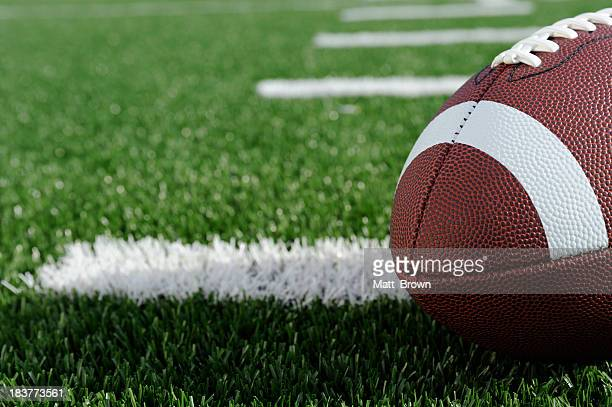 american football - american football pitch stock pictures, royalty-free photos & images