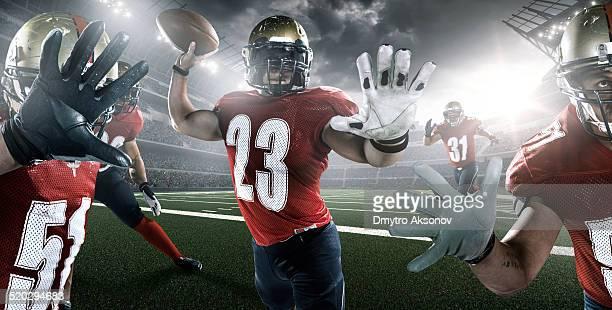 futebol americano - quarterback - fotografias e filmes do acervo