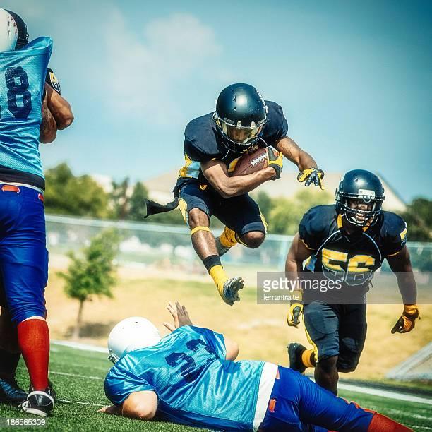 Salto Giocatore di Football americano