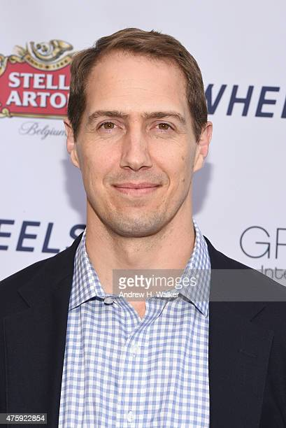 American Football player Patrick Kerney attends Greenwich Film Festival 2015 Sports Guys On Sports Movies Premiere After Party at Cole Auditorium at...