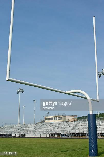 アメリカンアメリカンフットボール - ゴールポスト ストックフォトと画像