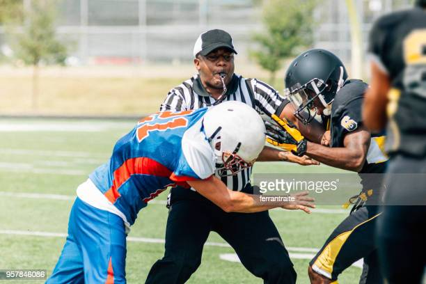 american football referee - american football referee stock pictures, royalty-free photos & images