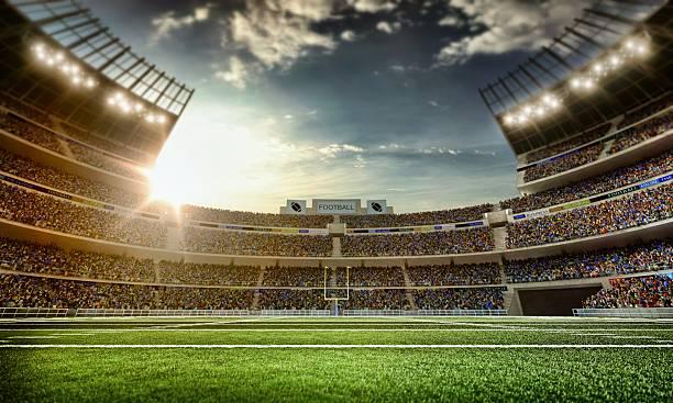 American Football Stadium Wall Art