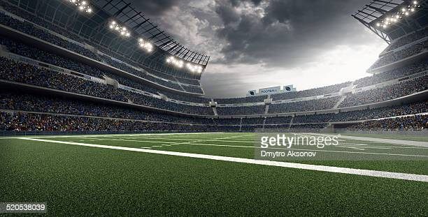 american football stadium - football field stock pictures, royalty-free photos & images