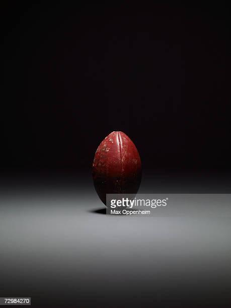 American football, studio shot