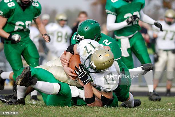 american football tackle - tackling stock pictures, royalty-free photos & images