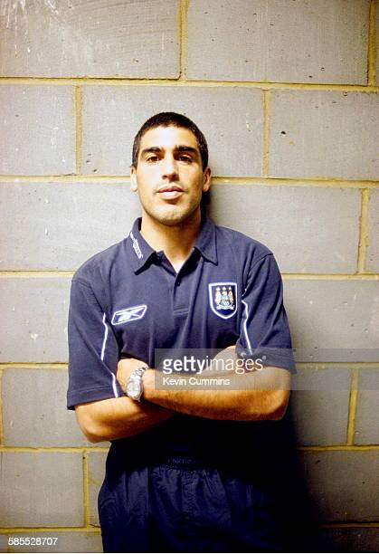 American footballer Claudio Reyna of Manchester City FC Manchester circa 2005