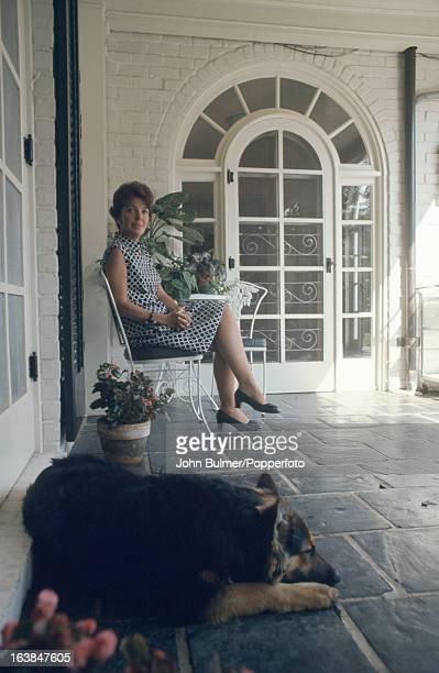 American former actress Nancy Reagan the wife of California Governor Ronald Reagan 1967