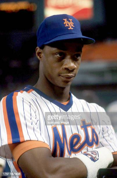 American former professional baseball right fielder, MLB top draft pick, National League Rookie of the Year and nine-time All-Star Darryl Strawberry...