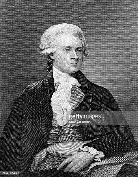 American Founding Father author of the Declaration of Independence and third President of the United States Thomas Jefferson circa 1790 From an...