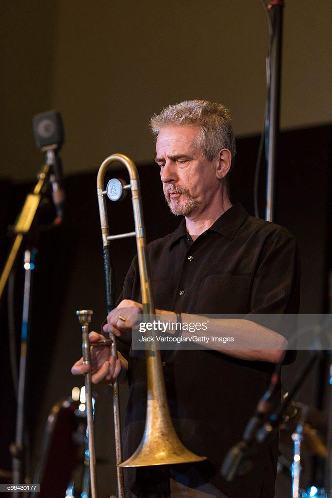 Steve Swell At Vision Festival 20 : News Photo