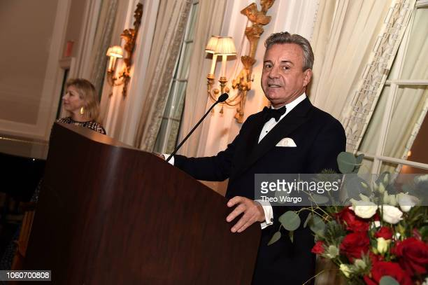 American Friends of BlŽrancourt Chairman Franck Laverdin attends the 2018 American Friends of Blerancourt Dinner on November 9 2018 in New York City