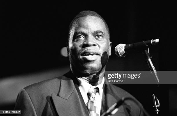 American Funk and Jazz musician Maceo Parker performs onstage at Irving Plaza New York New York May 15 1997