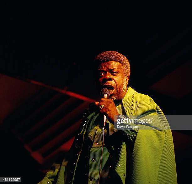 American funk and soul singer Rufus Thomas on stage at the New Orleans Jazz Festival May 1983
