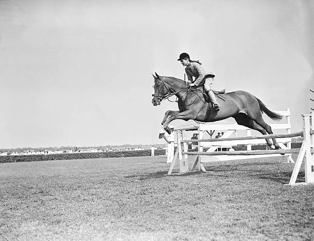 Jacqueline Bouvier On Her Horse Wall Art
