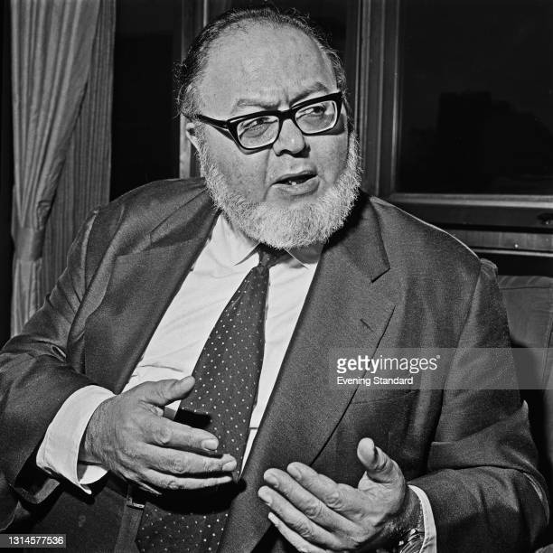 American futurist Dr Herman Kahn , founder of the conservative think tank the Hudson Institute, UK, 7th December 1973.