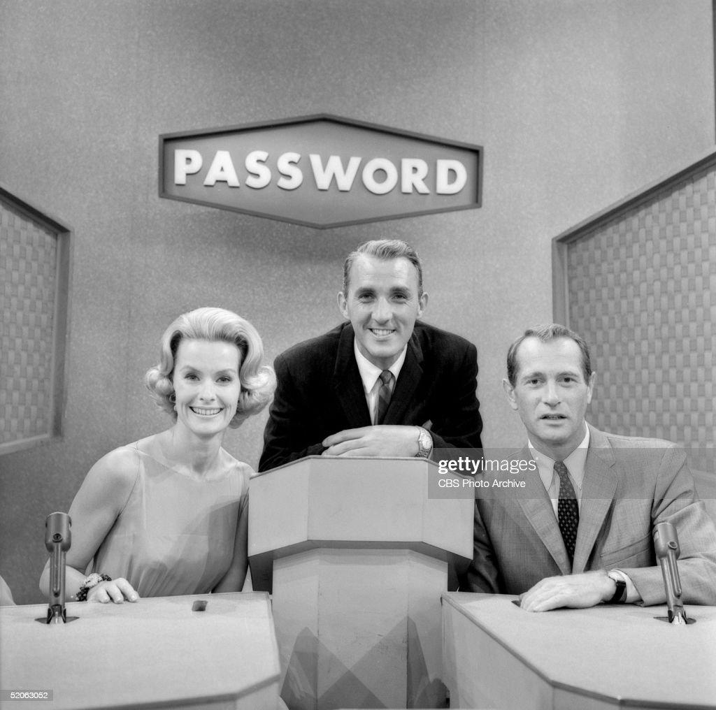 Clark Hosts Merrill And McGavin On 'Password' : News Photo