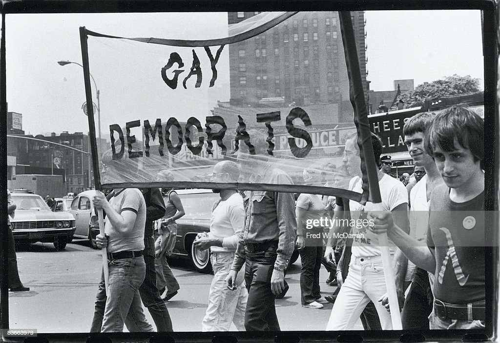 Gay Democrats At 5th Stonewall Anniversary : News Photo
