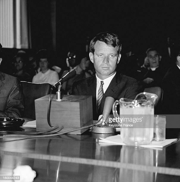 American General Attorney Robert Kennedy on August 1963 in United States