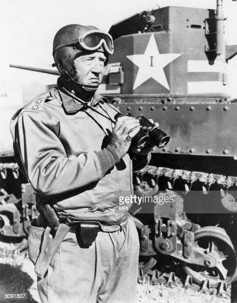 American General George Patton .