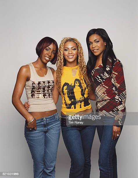 American girl group Destiny's Child circa 2005 From left to right they are Kelly Rowland Beyoncé Knowles and Michelle Williams