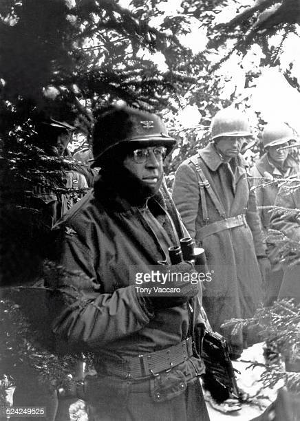 American GIs during the Battle of the Bulge Ardennes Belgium World War II December 1944