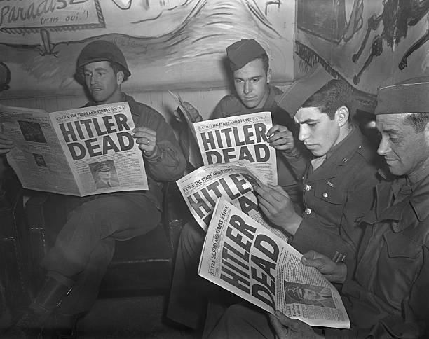 DEU: 30th April 1945 - Adolf Hitler Commits Suicide