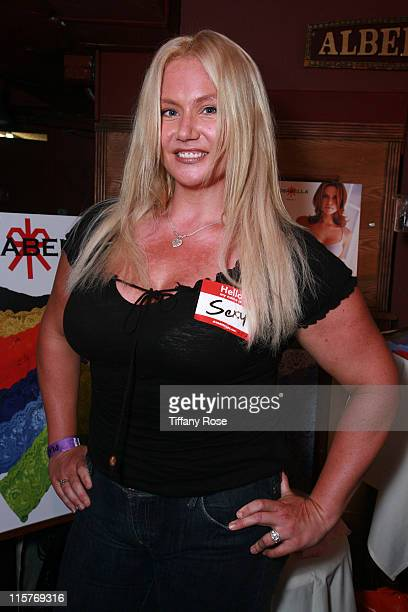 American Gladiators Robin Coleman attends Melanie Segal's Teen Choice Lounge presented by Rocket Dog at The Magic Castle on August 7 2009 in...