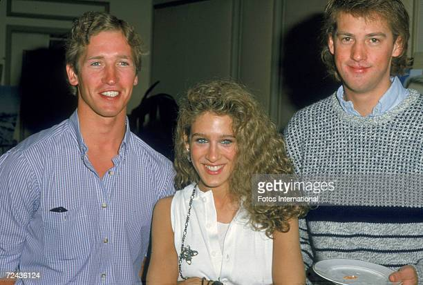 American goldmedalwinning Olympic downhill skier Bill Johnson television actress Sarah Jessica Parker and film and television actor Anthony Edwards...