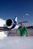 American golfer arnold palmer alongside his cessna citation private picture id1131479230?s=170x170