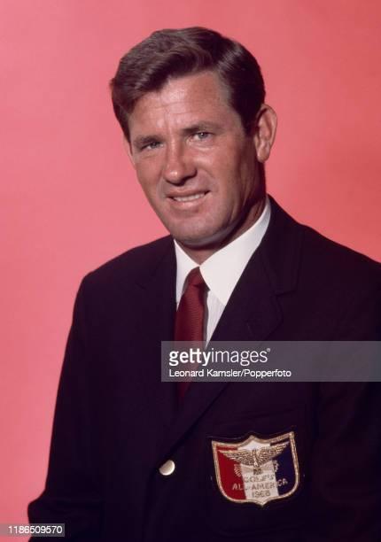 American golfer Doug Sanders wearing his Golf Magazine AllAmerica blazer circa 1966