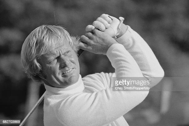 American golfer Jack Nicklaus pictured in action for Team USA to win the 1973 Ryder Cup 1913 at Muirfield Scotland in September 1973